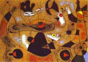 Joan Miró as a painter of subconscious mind