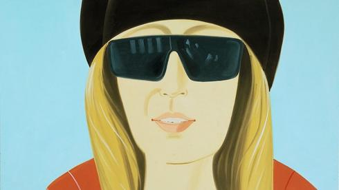 Alex Katz: Dark Brown Hat, 2002