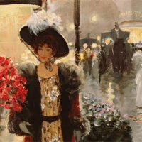 Parisian life by Christa Kieffer