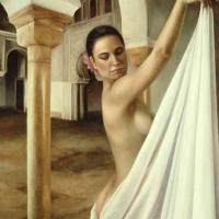 Sensual paintings of Maria Jose Aguilar Gutierrez