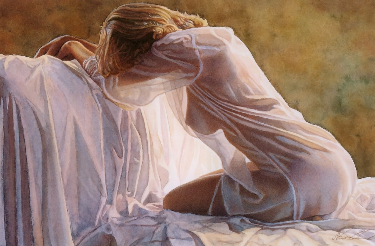 Nude watercolors of steve hanks 5