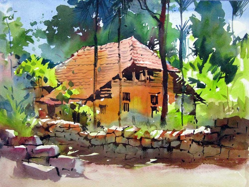 Milind Mulick's Watercolours | ART BLOG MarkovArt