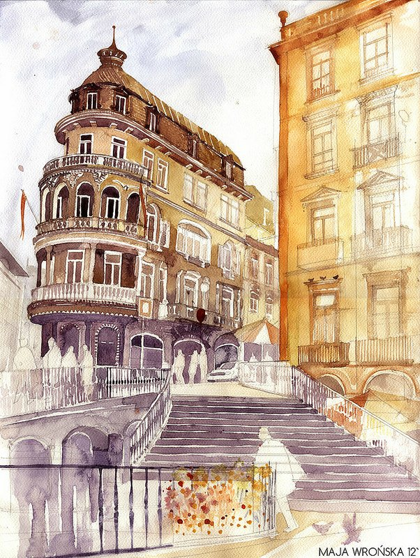Travelling with maja wronska art blog markovart for Architecture celebre