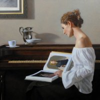 David Gray's romantic paintings