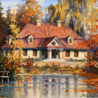 Beautiful Autumn by Stanislaw Wilk
