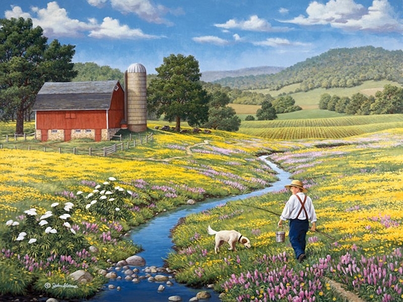 country life painted by john sloane art blog markovart