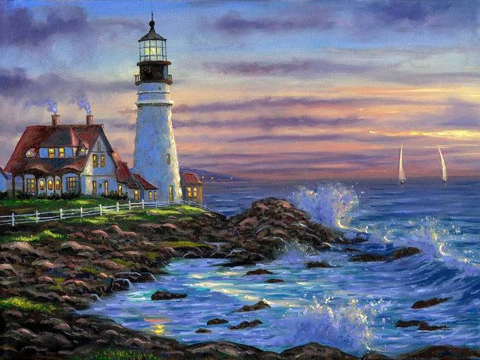 Romantic Paintings By Robert Finale Art Blog Markovart