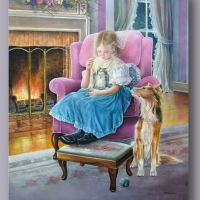 Childhood in works of Shirley Deaville