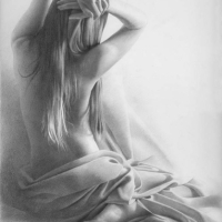 Oil Painting and Pencil Drawing by Denis Chernov