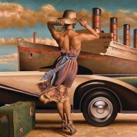 Retro adventure by Peregrine Heathcote
